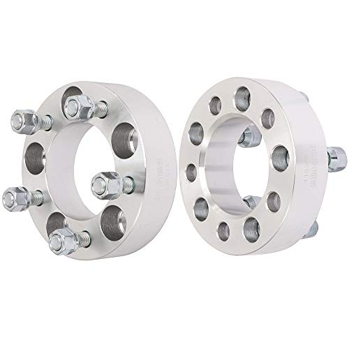 ECCPP 5x114.3 Wheel Spacers 5 Lug 5x4.5 to 5x4.5 5x114.3mm 1.5' 82.5mm CB Compatible with Jeep Liberty Mercury Grand Marquis Mountaineer XLT Ford Mustang with 1/2x20 Studs