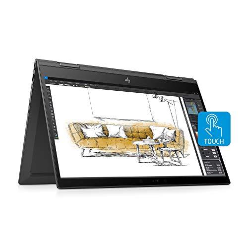 HP Envy X360 Convertible 15-Inch FHD Touchscreen Laptop, AMD Ryzen 5 2500U, 8 GB SDRAM, 512 GB Solid-State Drive, Windows 10 Home (15-cp0020nr, Dark Ash Silver)