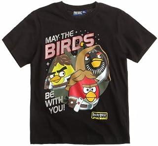 Angry Birds Star Wars Camiseta de Manga Corta - para Niño