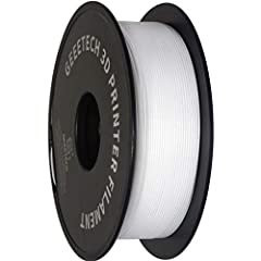 【1KG Spool】 Tangle-Free 3D Printer Filament 1.75mm, dimensional accuracy +/- 0.03mm, 1KG (2.2LBS). 【Vacuum Packaging】Vacuum packaged with desiccant to maintain low level of moisture content. And keep it dry and keep out dust and foreign particles, pr...