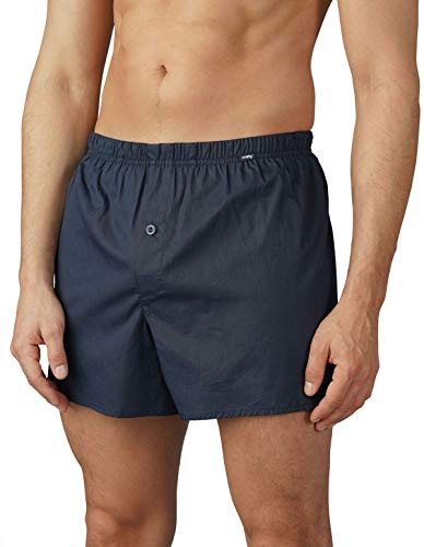 Mey Club Coll. Serie 2 in 1 Herren Boxer-Shorts Blau 7