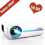 Best Tv Projectors - Projector, WiMiUS Native 1080P Projector 6800 Lumens Led Review