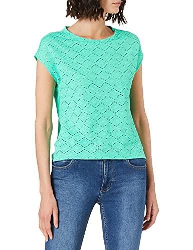 Street One 316312 T-Shirt, Yucca Green, 40 Femme