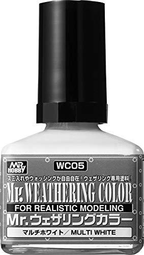 GSIクレオス Mr.ウェザリングカラー マルチホワイト 40ml 模型用塗料 WC05