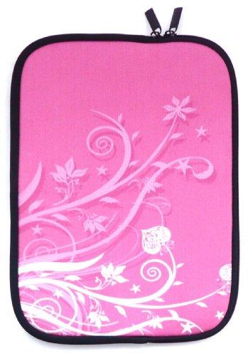 Emartbuy® EVGA Tegra Note 7 Inch Tablet Rosa Garten WasserfestNeoprenweichZipTascheHülleSleeve ( 7 Inch eReader / Tablet / Netbook )