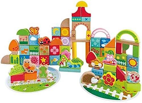 CHAIZIYU Der BAU von Block Toys 80 Grün Gartenbaubl e 1 Jahr altes Puzzle-Spielzeug kognitive Geschenk