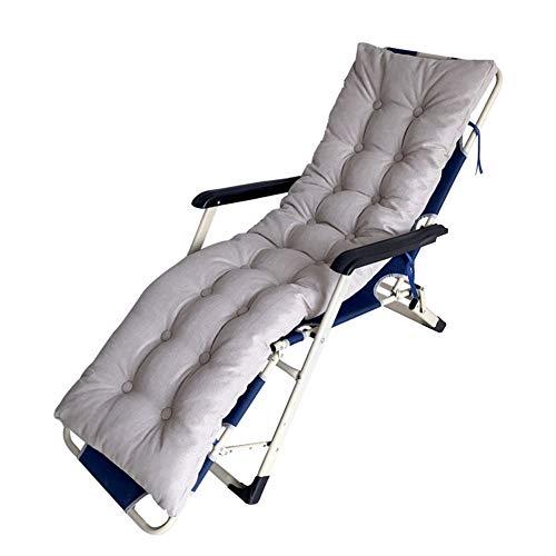 Stoelkussen van zacht en dik gevlochten wilgenen, polyester-katoen, zonneligbed met strikken, kussens voor schommelbank tuin bank patio stoel 170x45cm Oro rosa + oro rosa