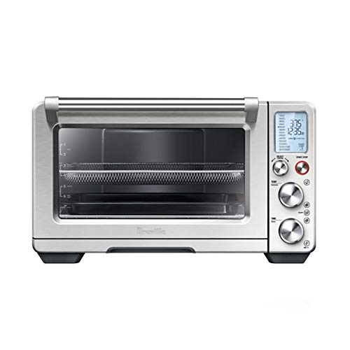 Breville the Smart Oven Air BOV900BSS Airfryer Dehydrator Convection Oven w/ 13 Smart Cooking Functions