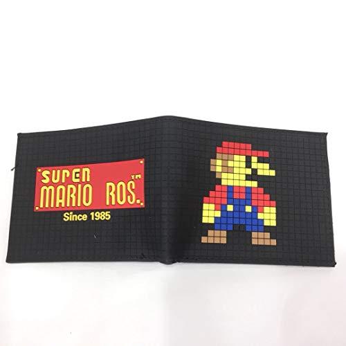 Super Mario Monedero Super Mario Mario Monedero Juego Perifricos Super Mario Corto Silicona Cartoon Wallet Wallet Wallet