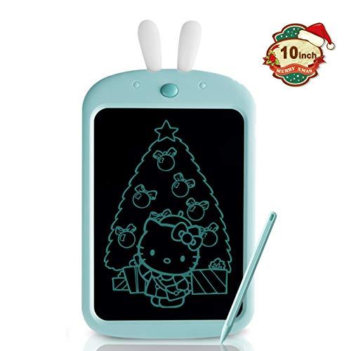 Richgv Tableta de Escritura LCD de 10 Pulgadas, Pizarra de Colores con Bloqueo de Pantalla Tableta de Dibujo Portátil Mini Pizarra Almohadilla de Escritura Adecuada para Niños y Adultos…