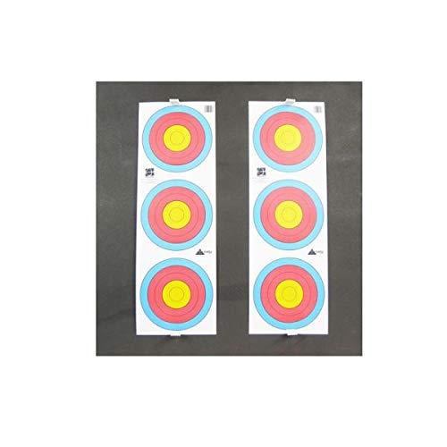 Kit–Diana de 80x 80x 8cm–espuma reciclada para el tiro con arco de ocio