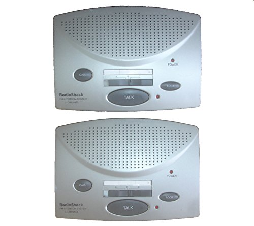 Radio Shack Wireless FM Intercom 43-3105 Set Of 2