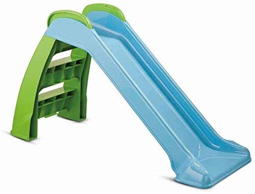 Kinderrutschen, hohe Sicherheit, speziell für Kinder konzipiert, leicht geeignet zu montieren für Innen und Außen,Blue green