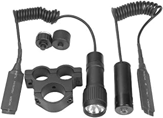 BARSKA Tactical Red Laser Sight System with Flashlight and Mount