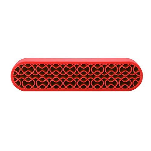 Multifuncional Manicura Herramientas Nail Pen Holder Display Stand para el cepillo de maquillaje para uso en el hogar (rojo)