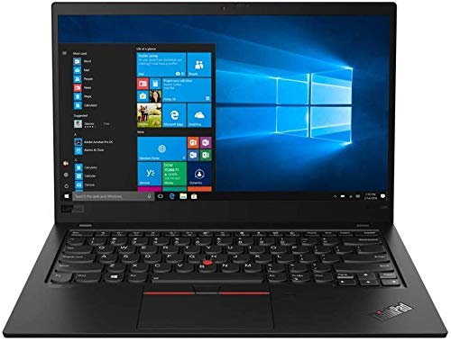 Lenovo ThinkPad X1 Carbon Gen 7, 14.0' FHD IPS 400 nits Anti-Glare, Intel i5, UHD Graphics, 8GB, 256GB SSD, Win 10 Pro, BT5.0, Carbon Fiber, Black