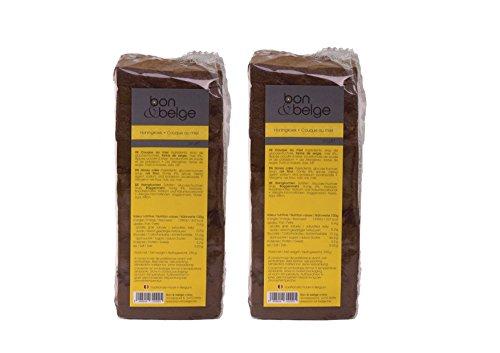 Duopack Gesunde Belgische Honigkuchen 100% natürliches Produkt 2*250g folgen Familienrezept mit Honig