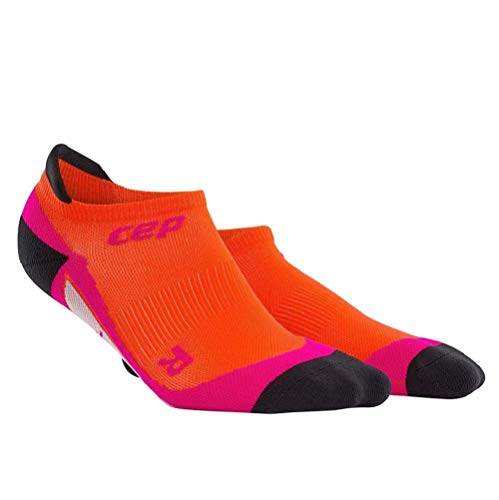 CEP Damen No Show Women Socken,Orange (Sunset/Pink), EU 40-43 (UK 6.5-9)