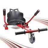 TFCFL Siège de kart pour gyropode Go Kart Hoverkart Balance Suspension Hoverboard Charge maximale...
