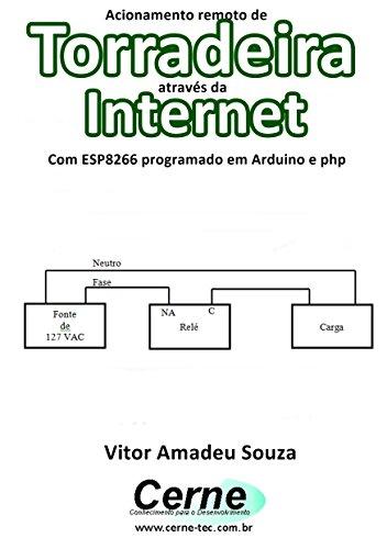 Acionamento remoto de Torradeira através da Internet Com ESP8266 programado em Arduino e php