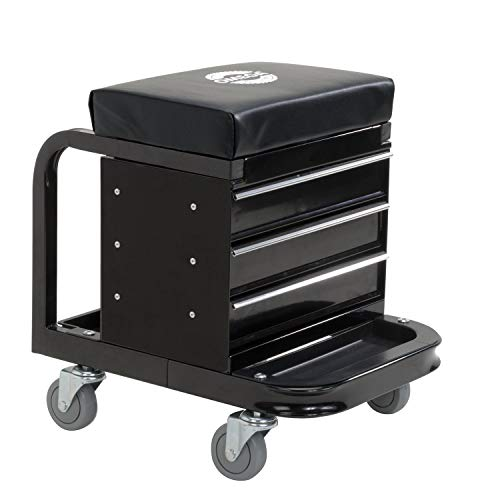 Omega 92450 Black Tool Box Creeper