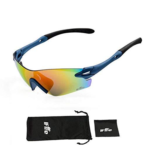 Mazu Homee Gafas de sol deportivas para exteriores, para ciclismo, motocicleta, cristal, para hombre y mujer, (opcional en varios colores)