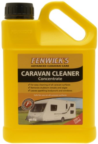 Fenwicks 0106 Caravan Cleaner-Yellow, 1 litres