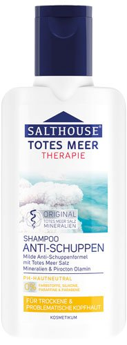 Salthouse Totes Meer Therapie Anti-Schuppen Shampoo - 6x 250 ml