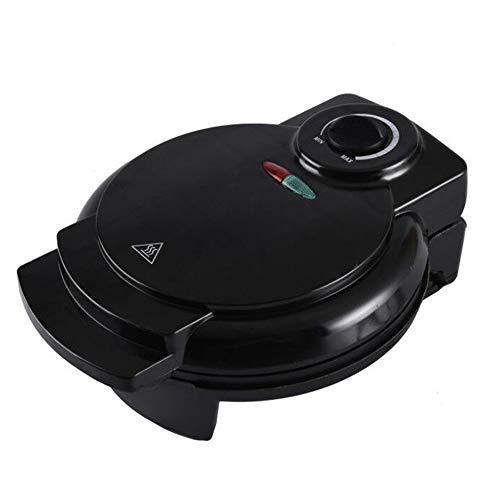 Máquina para Hacer Gofres, Revestimiento Antiadherente, Placa De Temperatura Ajustable, con Mango De Tacto Frío, Temperatura Ajustable, 1200 W, Negro
