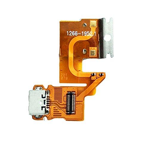 UTS-Shop Micro-USB Ladebuchse/Flex-Kabel passend für Sony Xperia Tablet Z SGP311 SGP312 SGP321