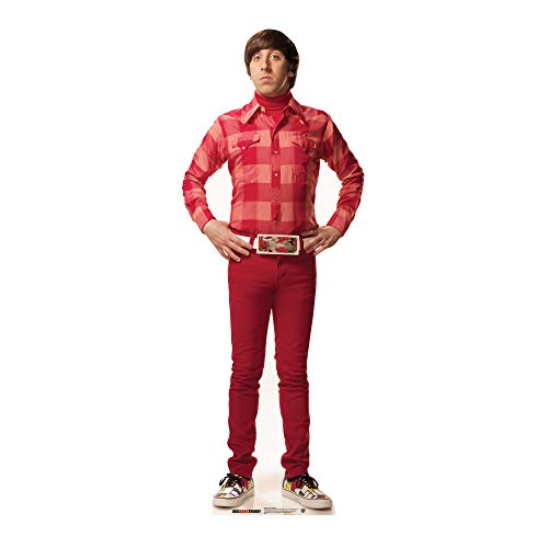 STAR CUTOUTS - Stsc621 - Figurine Géante CTN Howard Wolowitz - The Big Bang Theory