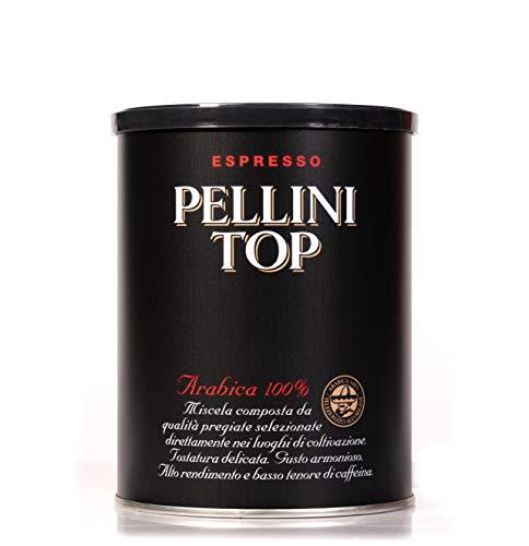 Pellini Kaffee, Pellini Top Arabica 100% für Espressokanne - 250 g Dose