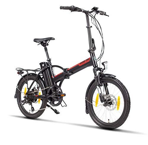 Fitifito FD20 Plus Elektrofahrrad Faltrad Klapprad E-Bike Pedelec, 48v 250w Heckmotor, 48v 13ah 624wh Cells-Litium Akku, 6061 Aluminium Rahmen