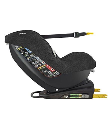 maxi-cosi milofix–reboarder Niños Asiento, grupo 0+/1(0–18kg), asiento infantil para coche con Isofix negro Nomad Black