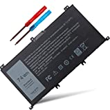 New 357F9 0GFJ6 071JF4 71JF4 Laptop Battery Compatible with Dell Inspiron 15 7000 7559 7557 5576 5577 7566 7567 7759 INS15PD-1548B 1548R 1748B Series Gaming P57F P57F003 P65F P65F001 11.1V 74W