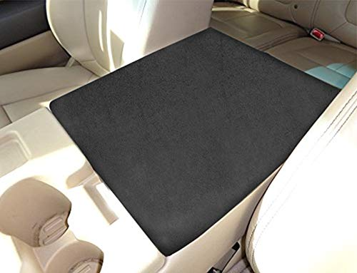 MOEBULB Center Console Lid Armrest Soft Pad Protector Cushion Cover Compatible...