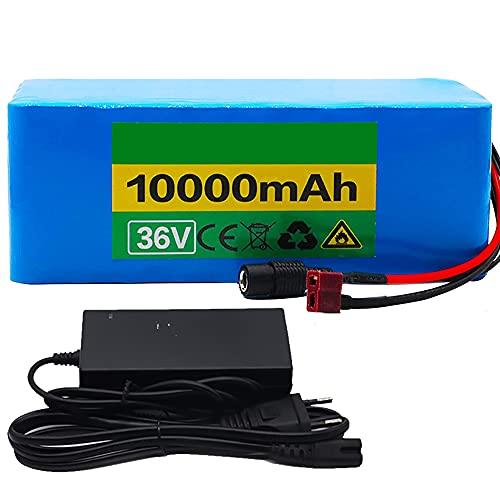 TGHY Paquete de Batería de Litio para Bicicleta Eléctrica de 36V 10Ah...