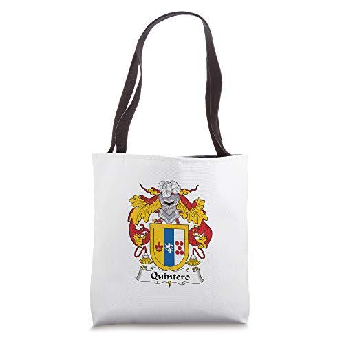 Quintero Coat of Arms - Family Crest Tote Bag