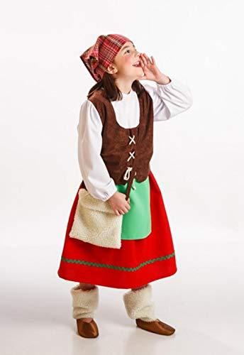 Disfraz de Pastora Asturiana para beb