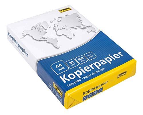 Idena 215006 - Carta per fotocopiatrice formato A4, 500 fogli
