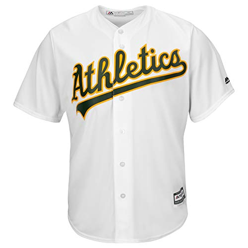 Majestic Oakland Athletics A's Cool Base MLB Trikot Jersey weiß (L)