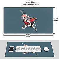 環境マウスパッド恋騎士1 ファッション防水 滑り止め オフィス マウスパッド 大型 ゲーミング防水 マウスパッド耐久性が良い/滑らかな表面/滑り止めゴム底