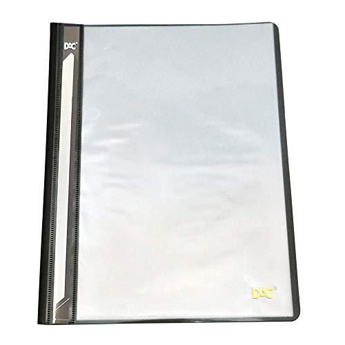 Pasta A4 Frente Transparente 10Envelopes, Dac, Pasta A4 Frente Transparente 10Envelopes 672Pp-Pr, Preto, 672Pp-Pr
