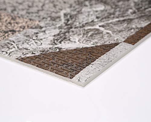 Weichschaum Bodenbelag Terramat Tapis de Cuisine antidérapant en Mousse  pour Sol et Cuisine Granite Mosaïque Taille au Choix, PVC, Motiv: Granit ...
