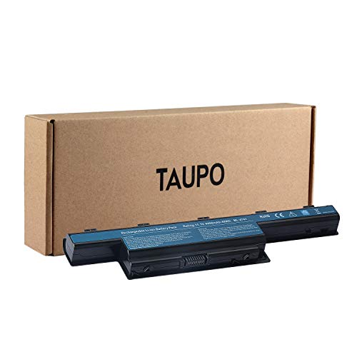 TAUPO AS10D31 AS10D51 New Laptop Battery Compatible with Acer AS10D81 AS10D41 AS10D73 AS10D75 AS10D61 AS10D71 AS10D3E AS10D56 31CR19/66-2 31CR19/65-2 -[6-Cell 49Wh]