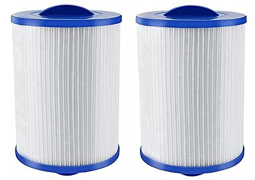 Kseyic Cartuchos de repuesto para filtro de hidromasaje Unicel 6CH-940 para Pleatco PWW50 Whirlpool compatible con filtros de repuesto Jacuzzi (2 unidades)
