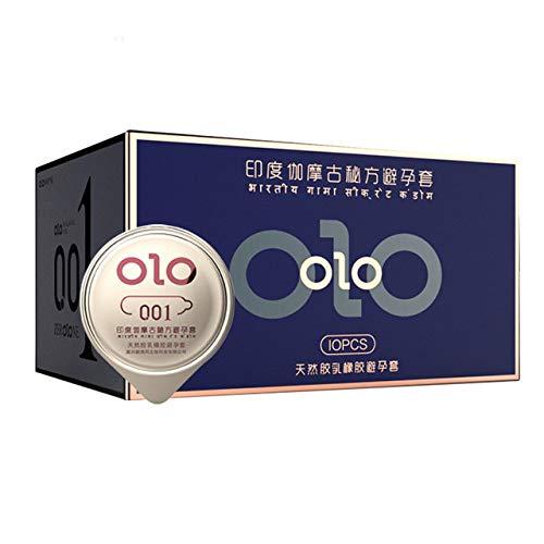 Wonderful Day 10 Stück 0,01 Ultradünne Kondome Safer Sex Erwachsene Spiel Verhütung Ice Feuerverzögerung Hyaluronsäure Gleitmittel KondomeSex Produkte, Indien alteFormel