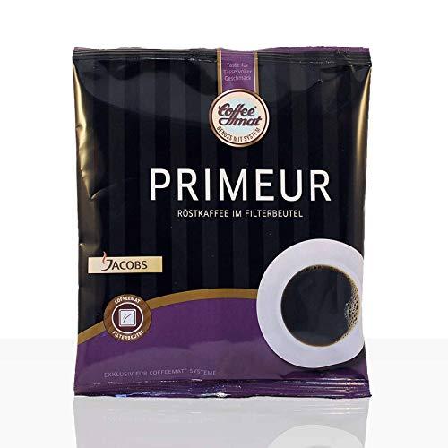 Jacobs Primeur Pouch - 36 x 60g Kaffee im Filterbeutel für Coffeemat, Filterkaffee