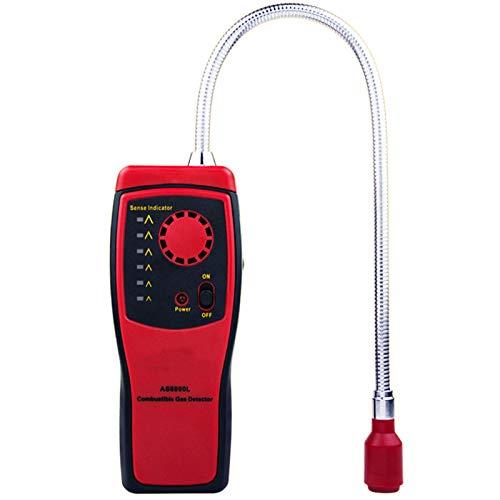 SMBYQ Gasmelder, Gaslecksuchgerät Gasanalysator Meter - Tragbare Propan Methan und Erdgas-Leck-Detektor, brennbares Gas-Sniffer