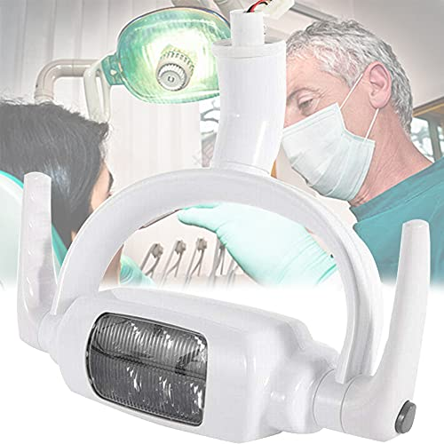 BLLJQ LED Oral Iluminación Sin Sombras, Luces Dental Silla, Estable y Duradero, Alta Resistencia, Induccion Electronica para Clínica